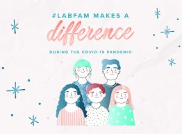 Business Unusual: The #LabFam Members make a difference in times of the COVID-19 Pandemic