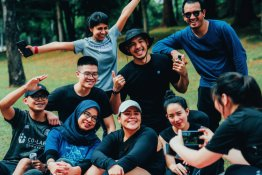 Sweatlab The LabFam Goes Outdoors : Hiking at Taman Tugu