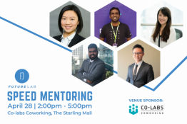 FutureLab presents: Speed mentoring to get you interview ready.