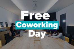 Free Coworking Day : 25th July 2019 (4 locations)