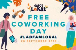 Free Coworking Day Sapot Lokal Edition #LabFamLokal: 26th September 2019