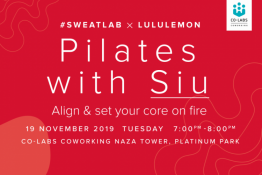 #Sweatlab x Lululemon: Pilates with Siu Lim