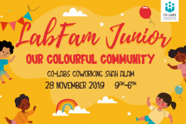 LabFam Junior : Our Colourful Community at Sekitar26 Enterprise