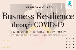 #LabFamChats: Business Resilience through COVID-19 [Virtual Chat]