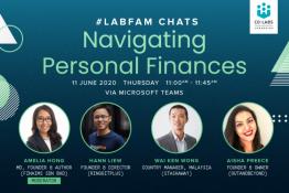 [Virtual Talk] LabFam Chats: Navigating Personal Finances