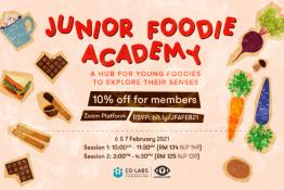 Wayang Kitchen Presents: Junior Foodie Academy